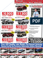 Fort Myers Used Cars Save Thousands at John Marazzi Nissan!