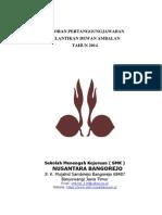 Laporan Pertanggungjawaban Pelantikan Ambalan 2014