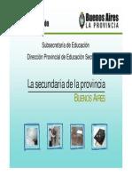 Presentacion Escuela Secundaria de La Provincia Bs As