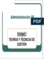 Adm3 - Un1 Teorías y Técnicas de Gestión (Opción 2)