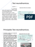 Principales Test Neurodinamicos
