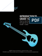 Rock School Introduction to Grade One Guitar