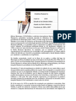 Biografia Violeta Barrios De Chamorro