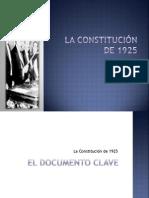La Constit u Cinde 1925