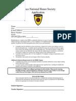 Application 2014