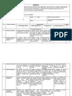 Informe de Investigación RÚBRICA