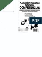 CÁZARES- PLANEACION Y EVALUACION BASADAS EN COMPETENCIAS.pdf
