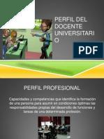 Perfil Del Docente Universitario Pr