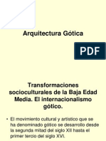 Arquitectura Gótica