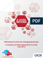 140151 Guide to the a Level Reforms