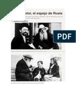 Bárbara Álvarez Plá. Tolstoi, El Espejo de Rusia.