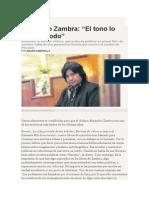 Mauro Libertella. Entrevista a Alejandro Zambra.