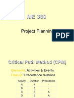 Project Planning chapter 4
