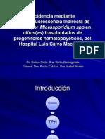 Diarrea Por Microsporidium IFI Octubre 2013