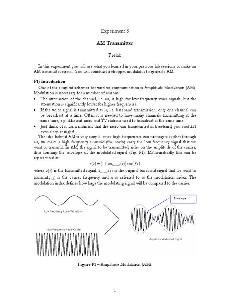Am Transmitter Pdf Versi 1 Modulation Modulator Circuit