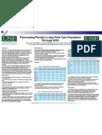 Forecasting Florida's Long-Term Care Population Through 2030