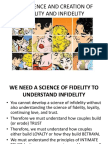 John & Julie Gottman - The Science and Creation of Fidelity and Infidelity