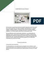 Analisis de Compónentes Electronicos