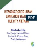 Hue Urban Sanitation Introduction