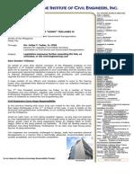 Letter to Sen Trillanes Re CE Law Amendment