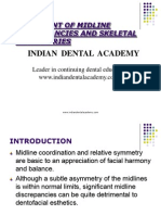 Midline Final / orthodontic courses by Indian dental academy