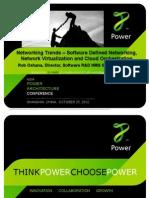 13. FSL SDN Openflow and Cloud Computing UPD Rob Oshana