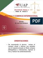 Ayuda 8 Politica y Comercio Internacional