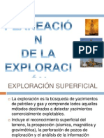 Planeacon de La Exploracion