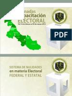 8 1. Sistema de Nulidades en Materia Federal y Local
