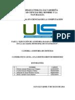 Ejecución de Auditoria de Sistemas