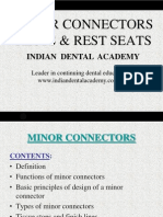 Minor Connectors & Rests & Rest Seats / orthodontic courses by Indian dental academy
