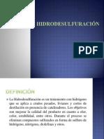 HIDRODESULFURACIÓN