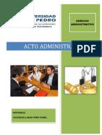 Monografia Acto Administrativo