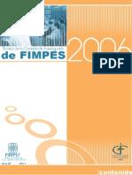 Revista de la Comisión de Investigación de FIMPES 2006