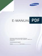 Samsung Smart TV UN46F5500 - Manual de Usuario