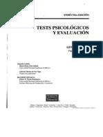 Tests Psicologicos y Evaluacion