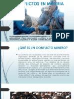 Conflictos en Mineria