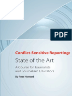 Conflict Sensitive Reporting- State of Art