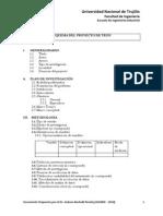 Instrucciones Para Elaborar El Proyecto de Tesis