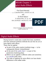 07 Audio Effects