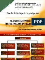 Planteamiento Del Problema de Investigacion