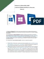 Windows 8.1 Edición RTM o GDR