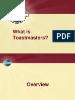 Toast Master Intro