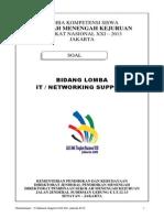 Soal Lomba 2013 IT-Network Support