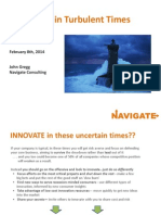 2014-Navigate Innovation in Turbulent Times