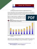 Las Importaciones de Bolivia Aumentaron en 40,8%