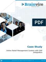 Online Retail Management System with SAP Integration