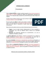 Resumen de Introduccion Al Derecho UNLP