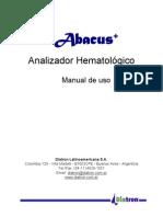 Manual Usuario Abacus + - DLA