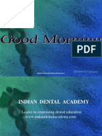 Mock / orthodontic courses by Indian dental academy